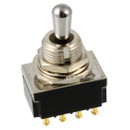 3-Way 4-Pole On/On/On Toggle Switch