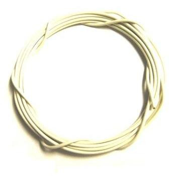 Stranded 26 Gauge Guitar Circuit Wire-White