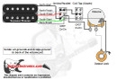 1 Humbucker/1 Volume/Series-Parallel & Coil Tap South