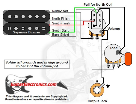 1 Humbucker/1 Volume/1Tone/Pull for North Single Coil on ibanez humbucker wiring diagram, emg humbucker wiring diagram, epiphone humbucker wiring diagram, gibson les paul humbucker wiring diagram, seymour duncan humbucker wiring diagram, bridge humbucker wiring diagram, pearly gates humbucker wiring diagram, fender humbucker wiring diagram, bass humbucker wiring diagram, strat humbucker wiring diagram, dimarzio humbucker wiring diagram,