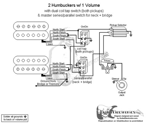 pickups wiring diagram parallel emg b pickups wiring diagram