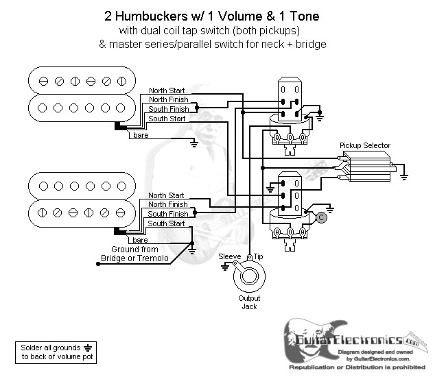 2 hbs 3 way toggle 1 vol 1 tone coil tap \u0026 series parallelclick to enlarge
