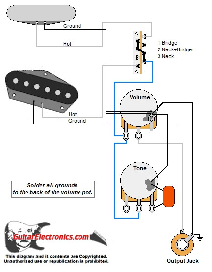 tele style guitar wiring diagramtele style guitar wiring diagram click to enlarge