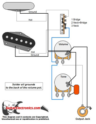 tele style guitar wiring diagram. Black Bedroom Furniture Sets. Home Design Ideas