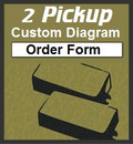 2 Pickup Custom Guitar Wiring Diagram Order Form
