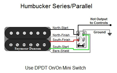 series parallel pickup wiring diagram humbucker series/parallel #14