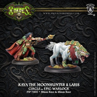 Kaya the Moonhunter & Laris