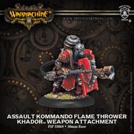 Assault Kommando Flame Thrower