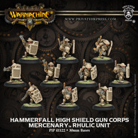 Hammerfall High Shield Gun Corps
