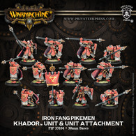 Iron Fang Pikemen & Unit Attachment