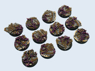 Dark Temple Bases, Round 25mm (5)