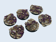 Dark Temple Bases, Round 40mm (2)