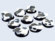 Winter Shale Bases, WRound 30mm (5)