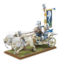 White Lion Chariot