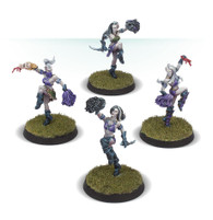 The Night Terrors - Dark Elf Cheerleading Squad