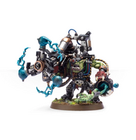 Big Mek with Shokk Attack Gun