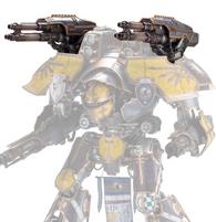 Mars Pattern Warlord Titan Laser Blasters