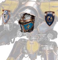 Mars-Alpha Pattern Warlord Titan Head
