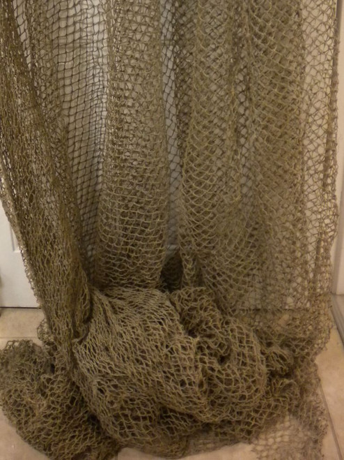 Authentic Fish Net Heavier for Decoration NauticalSeasons