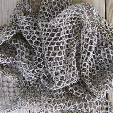 Heavier 5' x 2' Used Authentic Fishing Net #70355