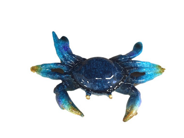 Blue Crab Decoration Nautical Seasons