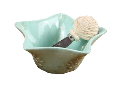 Shell Dip Bowl  Nautical Seasons