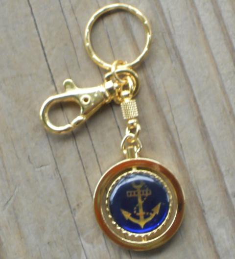 Anchor KeyChain  Nautical Seasons