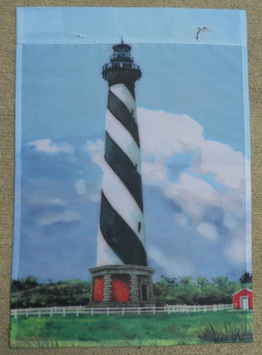 Cape Hatteras Lighthouse Flag Nautical Seasons