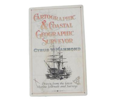 Ship Metal Sign  Nautical Seasons