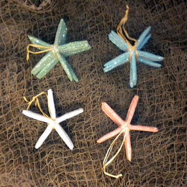 Replica Colorful Finger Starfish Set of 6 #14190