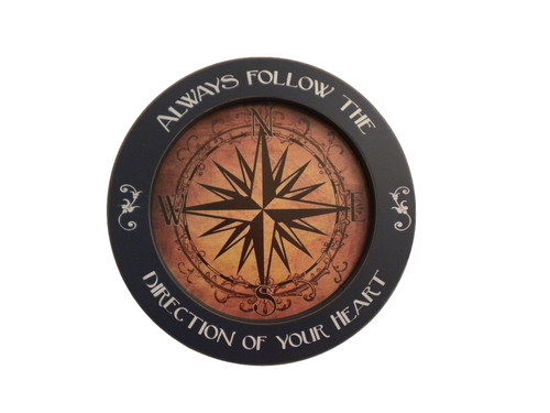 Compass Rose Wall Plaque  Nautical Seasons