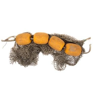 Authentic Cork Floats With Fishing Net Nautical Seasons