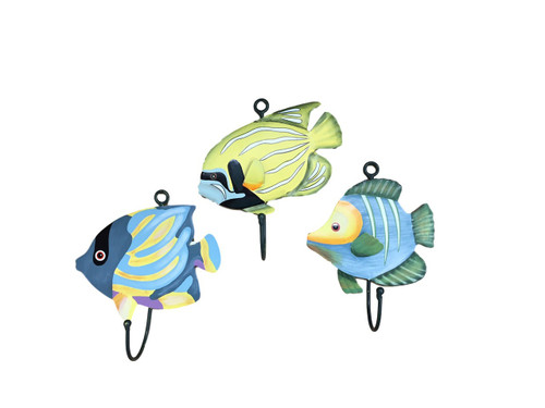Tropical Fish Hooks  Nautical Seasons