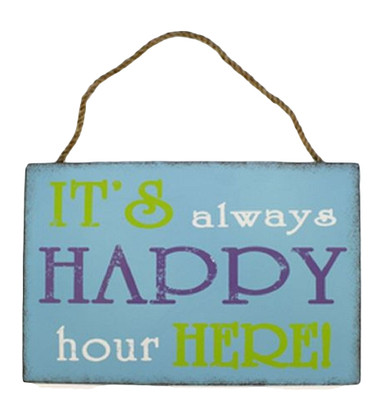 Happy Hour Sign  Nautical Seasons