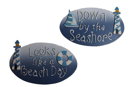Beach Day Sign  Nautical Seasons