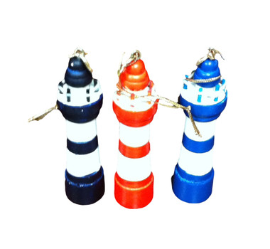 Lighthouse Christmas Ornament  Nautical Seasons