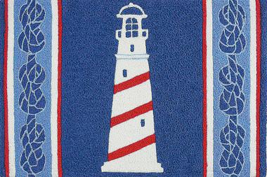 Jellybean Ship's Lighthouse Rug #15120