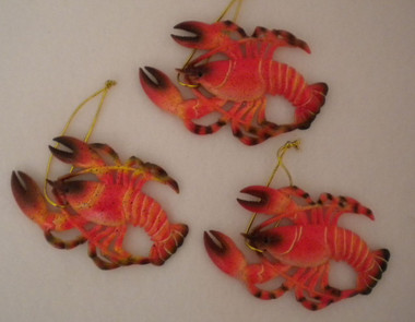 Lobster Year 'Round Ornaments Set of 3 #14238