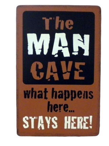 Man Cave Sign  Nautical Seasons