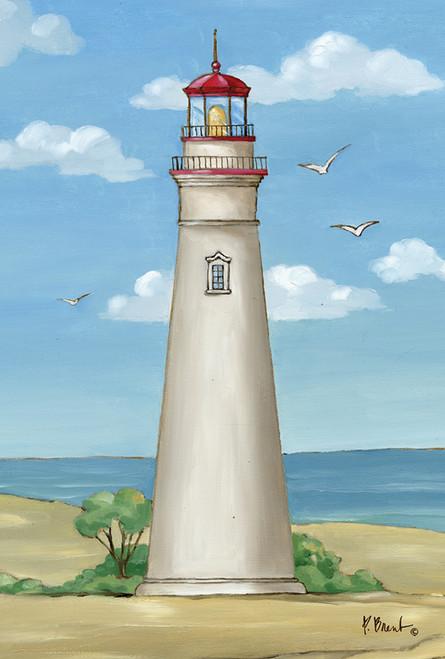 Marblehead Lighthouse Garden Flag Nautical Seasons