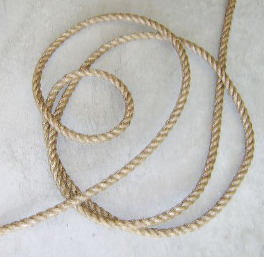 Manila Rope New 7/8 Inch 10 Foot Section #8072