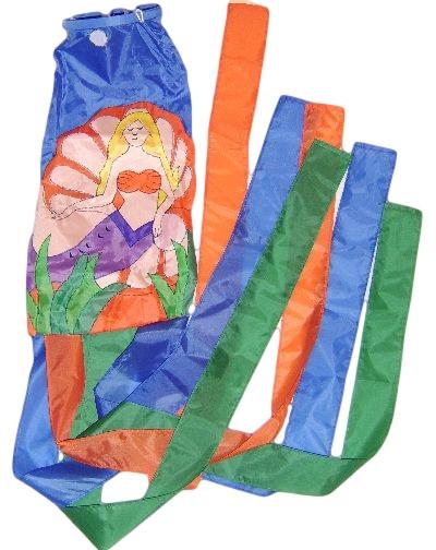Mermaid Wind Sock  Nautical Seasons