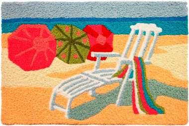 Oceanside Jelly Bean Washable Rug #2370
