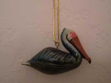 Pelican Ornament  Nautical Seasons