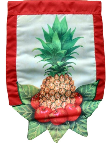 Pineapple Garden Size Flag  Nautical Seasons