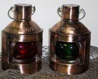 Port & Starboard Boat Lights Lanterns - #2212