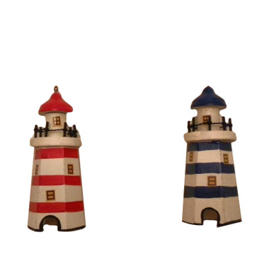 Lighthouse Ornaments  Nautical Seasons