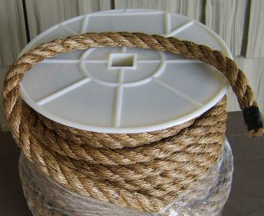 """Nautical Manila Rope 7/8"""" 100 Feet #4416"""