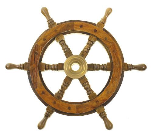 """Ships Wheel 18"""" Nautical Seasons"""