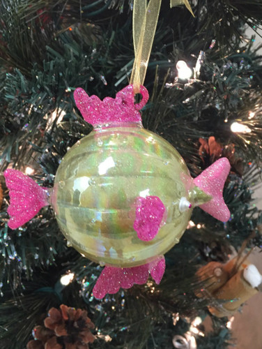 Kissing Fish Christmas Ornament Nautical Seasons